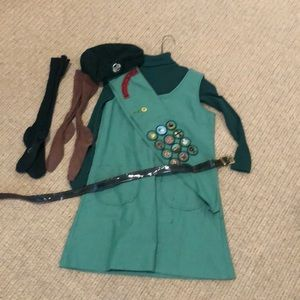 Other - Vintage Complete Girl Scout Uniform